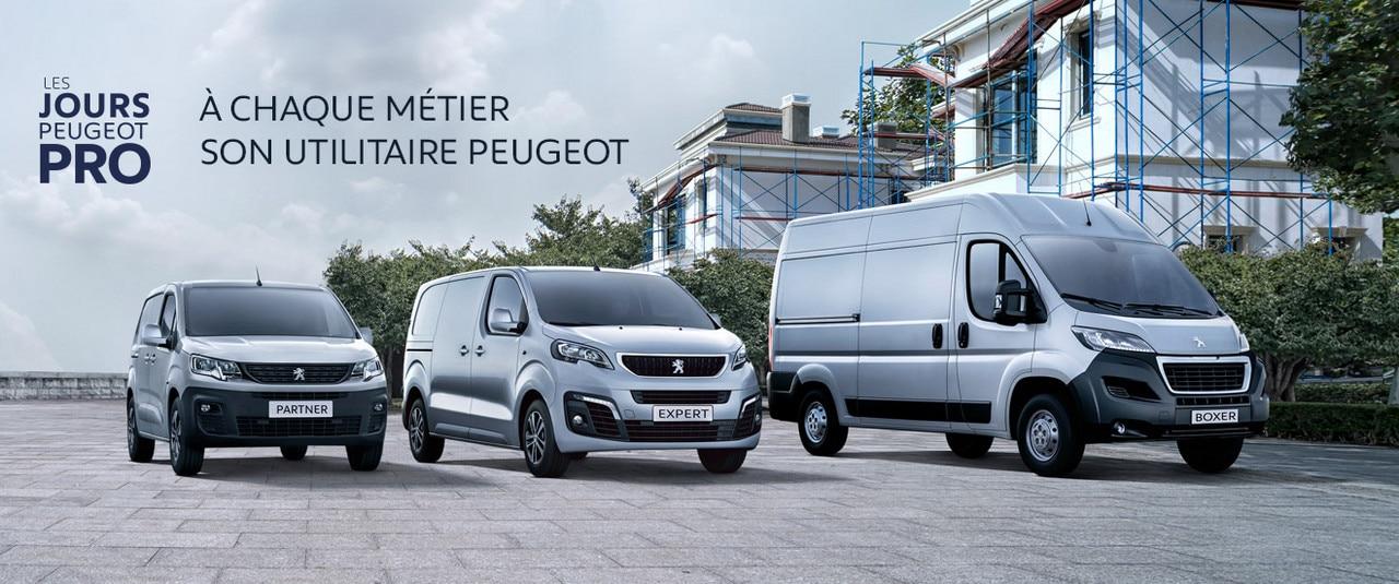 Gamme Peugeot Professionnel