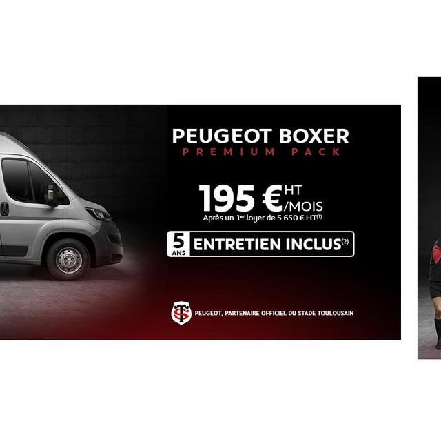 Offre Peugeot Boxer