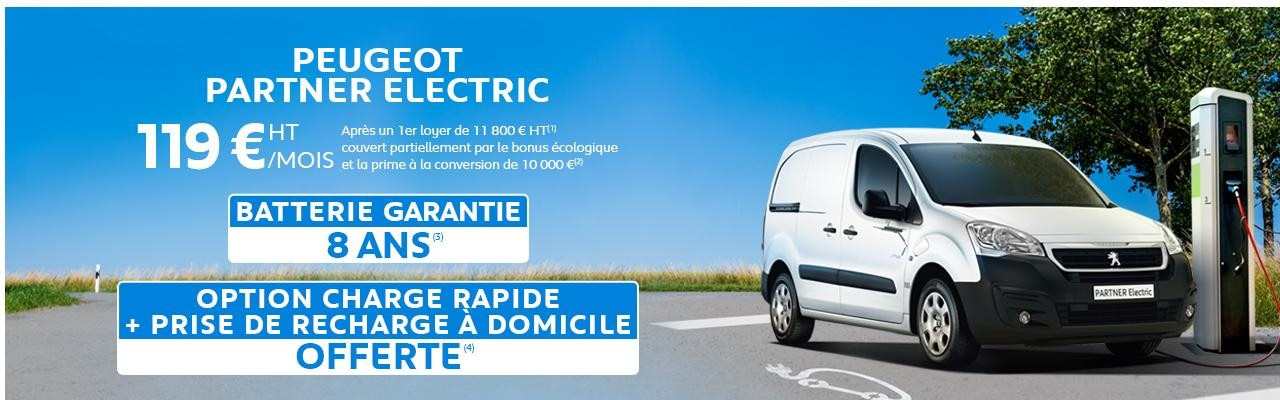 Offre du moment Partner Electric