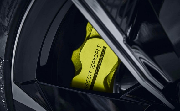 Nouvelle 508 PEUGEOT SPORT ENGINEERED : étriers de frein Kryptonite siglés
