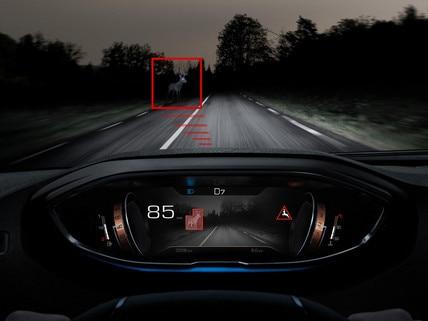 Nouveau SUV PEUGEOT 3008 – aide à la conduite Night Vision