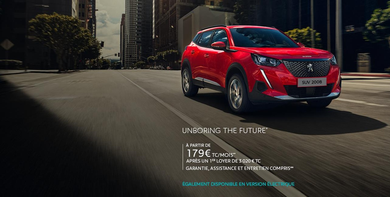 Nouvelle Peugeot 2008 Business