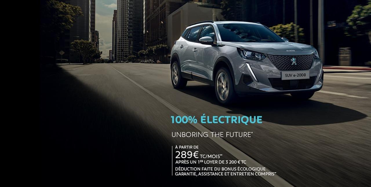 Nouvelle Peugeot e-2008 Business