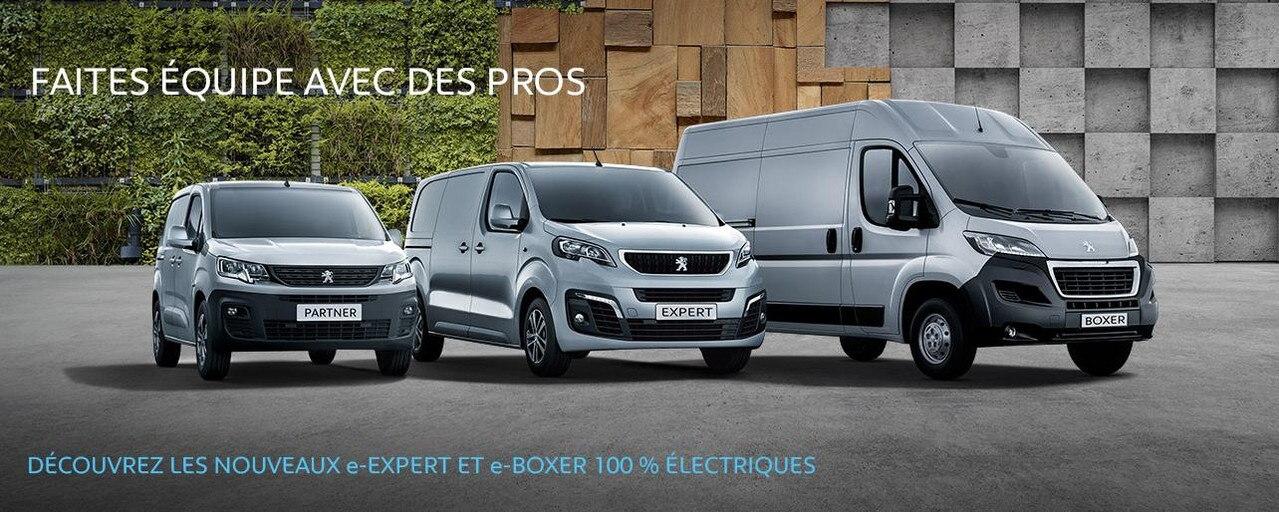 Offres du moment Gamme Utilitaire Peugeot