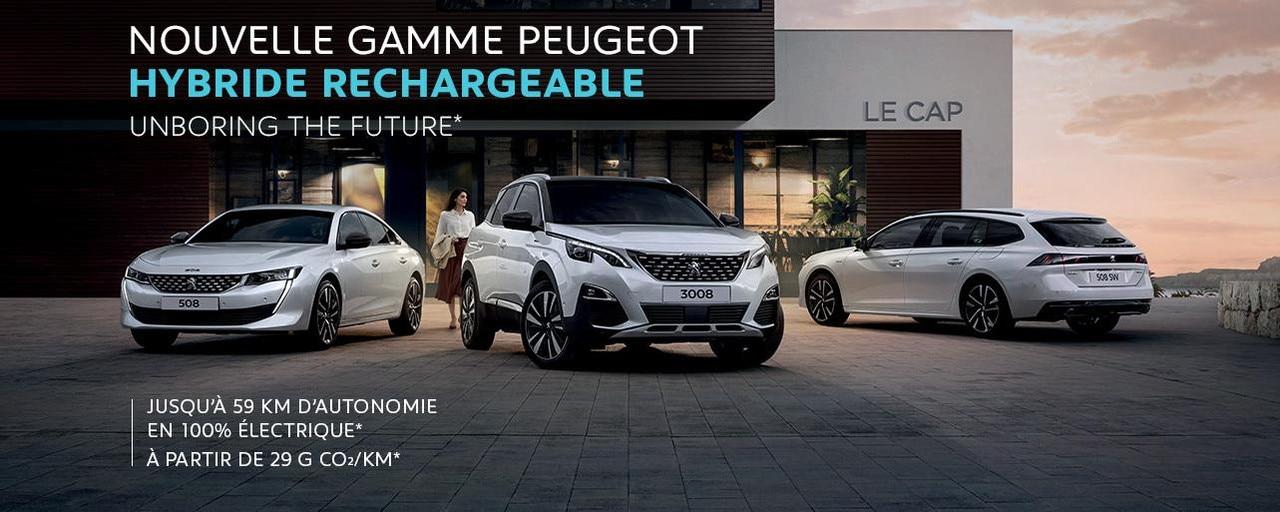 Gamme Hybride Peugeot