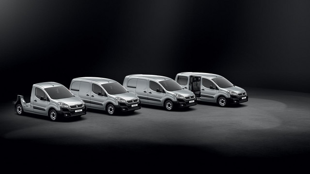 PEUGEOT Partner : 4 silhouettes disponibles