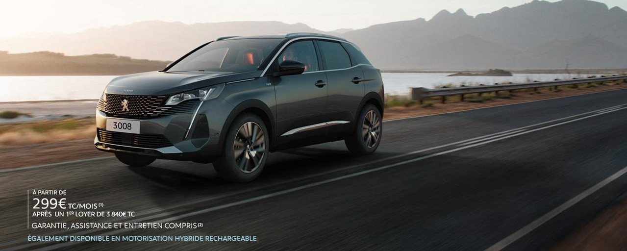 SUV PEUGEOT 3008 BUSINESS