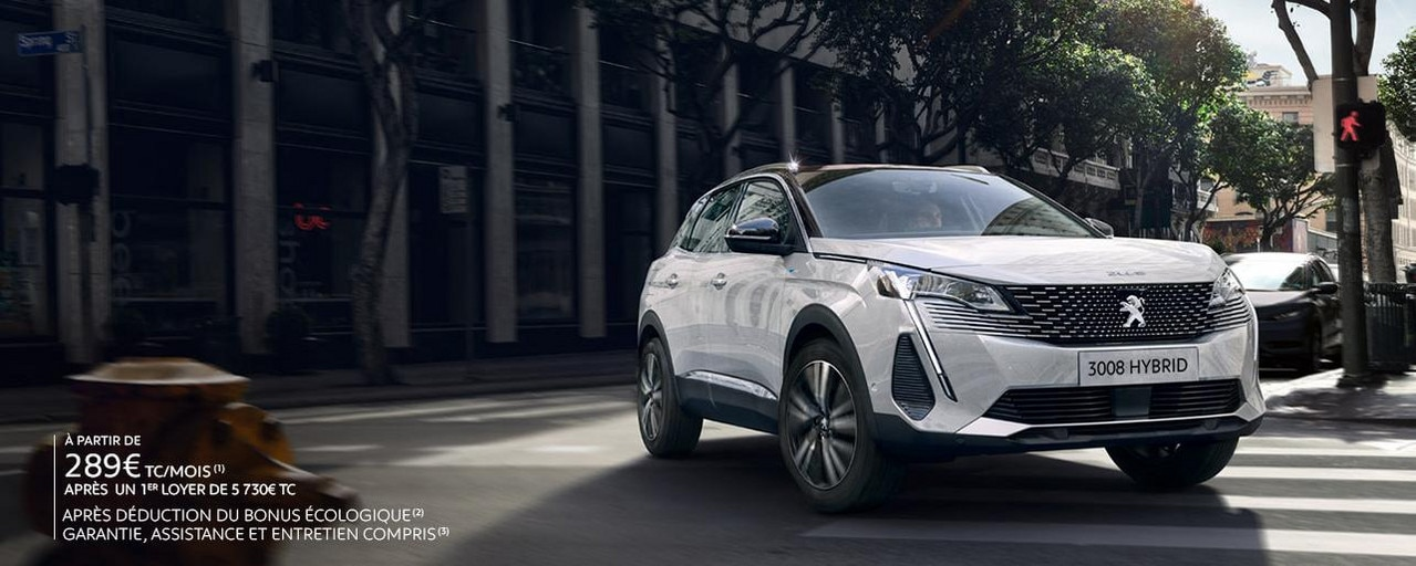 SUV PEUGEOT 3008 HYBRID BUSINESS