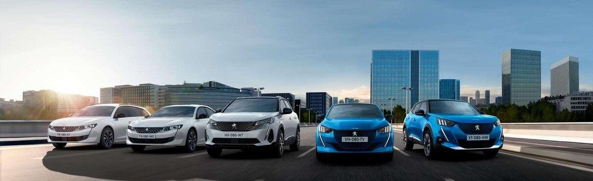Gamme électrifiée Peugeot