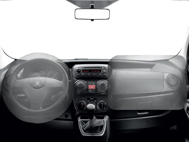 PEUGEOT Bipper : Airbags