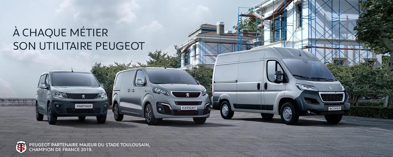 Peugeot Gamme Utilitaire