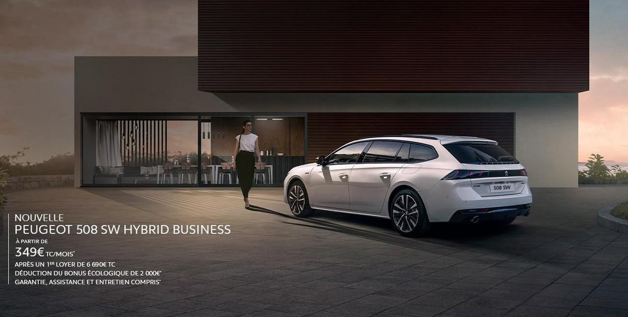 Peugeot 508 SW Hybrid Business