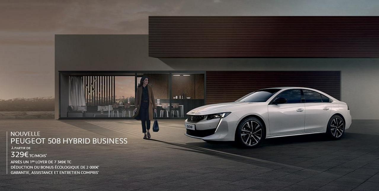 Peugeot 508 Hybrid Business