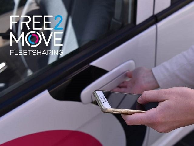 FREE2MOVE FLEET SHARING AUTOPARTAGE