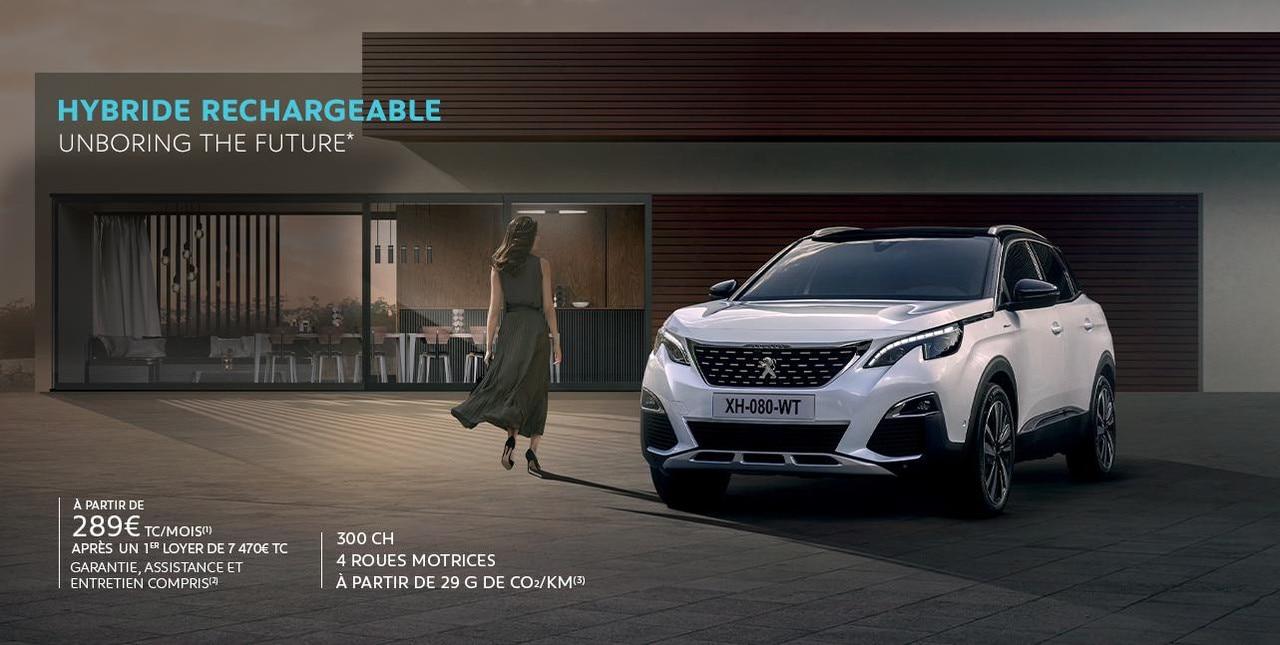 Peugeot 3008 Hybrid Business