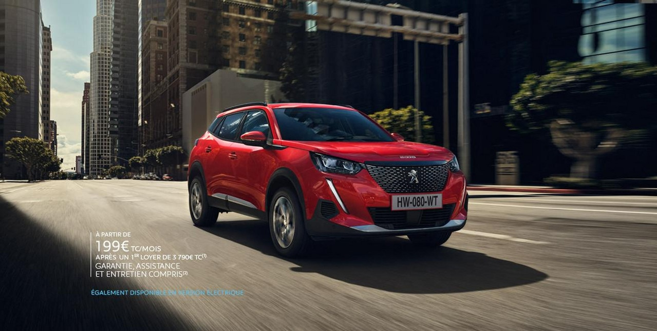Nouveau SUV Peugeot 2008 Business