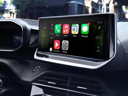 Nouveau SUV PEUGEOT 2008 pour les professionnels : écran tactile capacitif 10 pouces HD