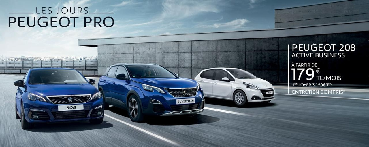 PEUGEOT - Gamme Business