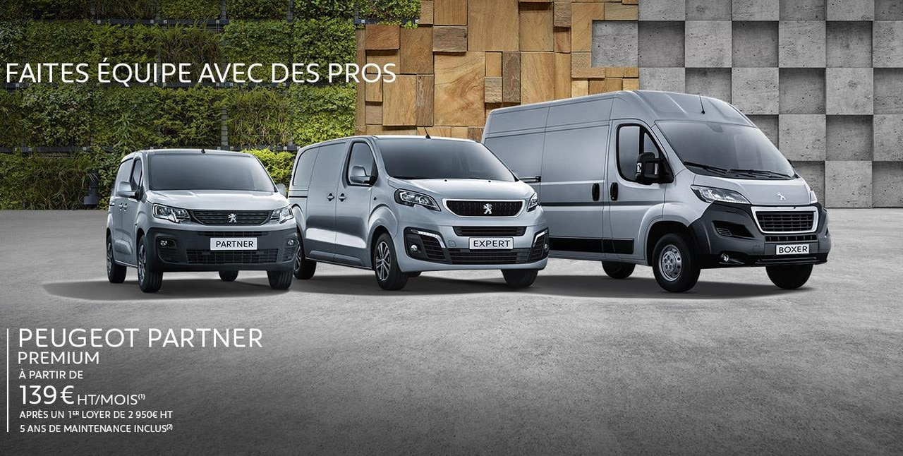 Peugeot Gamme Utilitaire
