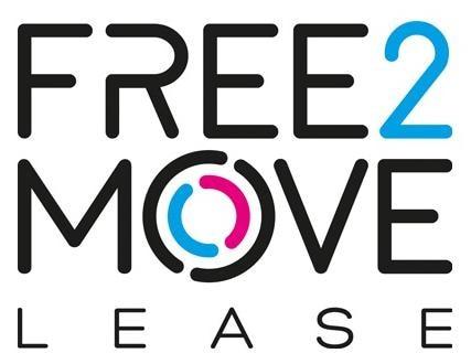 F2M FREE2MOVE LEASE LOGO