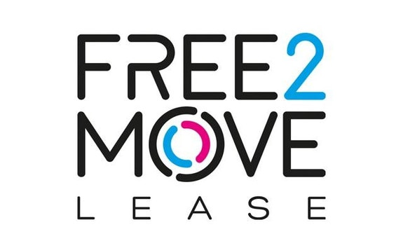 F2M FREE2MOVE LEASE LOGO