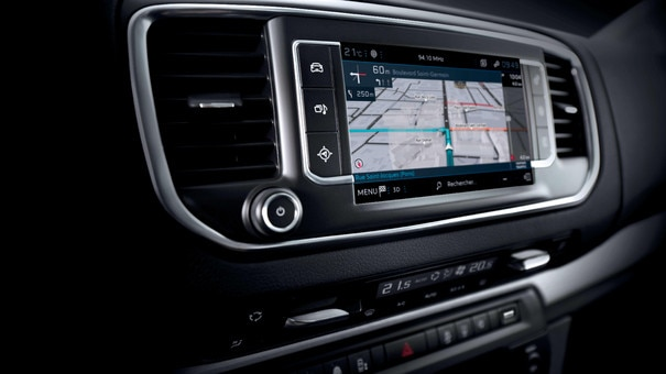 Peugeot Expert - Écran tactile et connectivité
