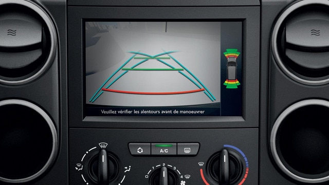 PEUGEOT Partner : Écran tactile multimédia  7''