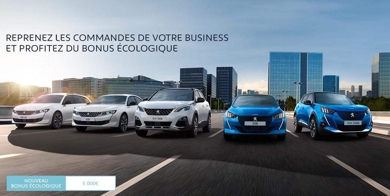 Peugeot Gamme Électrifiée