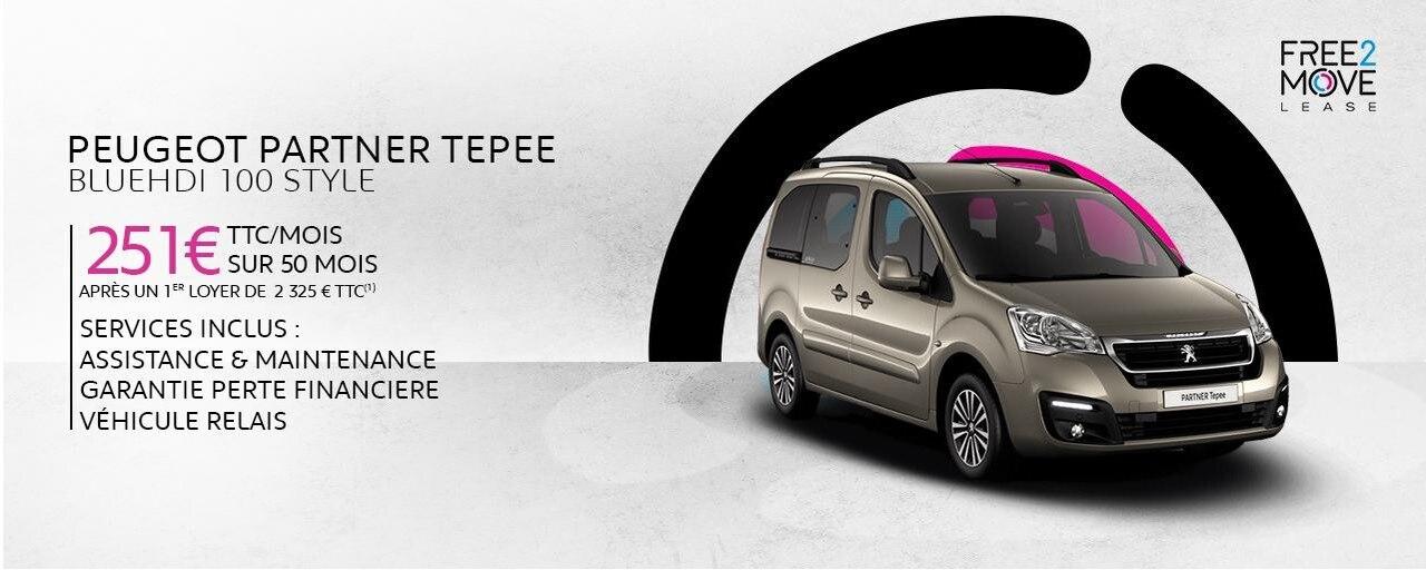 Partner Tepee Free2Move 2